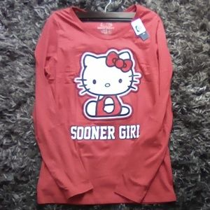 NWT Long Sleeve Hello Kitty XL 16